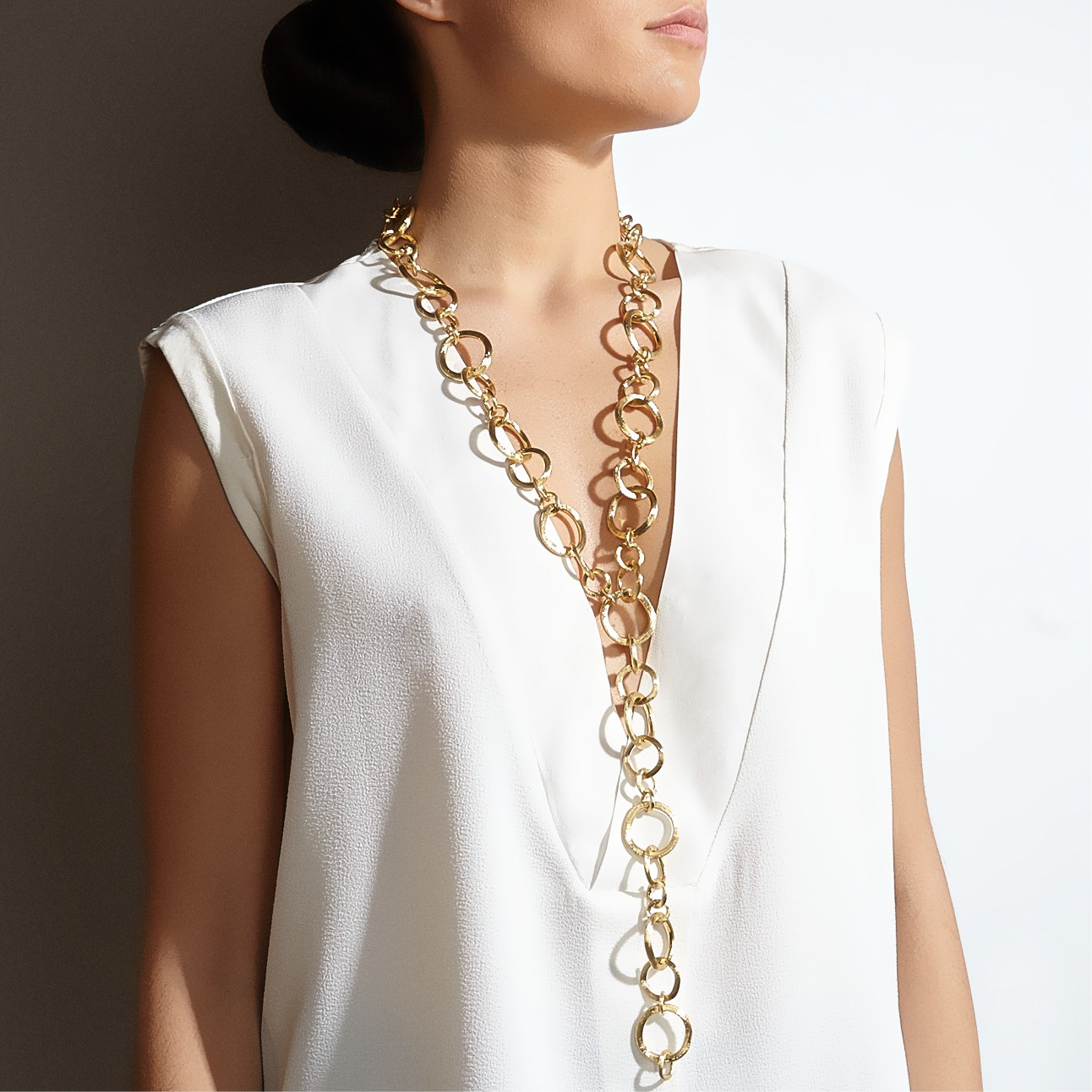 Marco Bicego necklace in Palm Desert, California on El Paseo