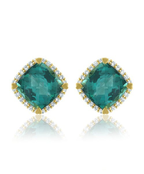 earrings with diamonds, Palm Springs, California