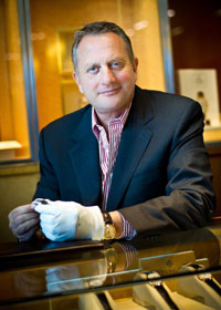 Terry L. Weiner, President & CEO of Leeds & Son Jewelers in Palm Desert