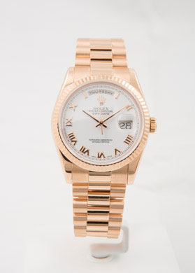 PreOwned watch ROLEX Day-Date 40mm Everose