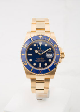 PreOwned ROLEX Submariner Yellow Gold
