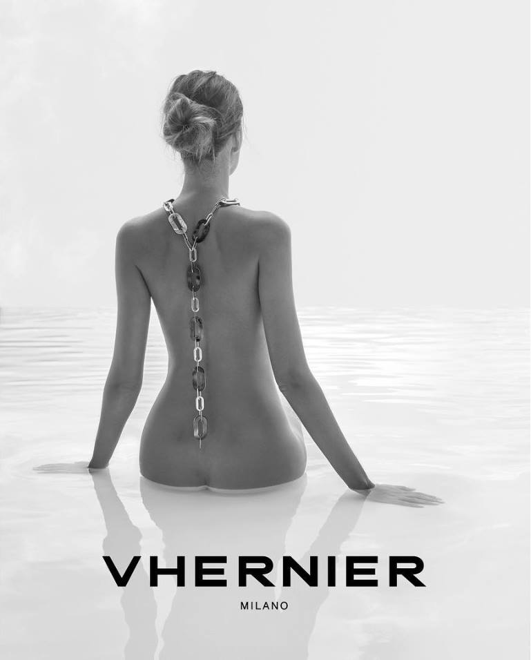 Vhernier jewelry on El Paseo in Palm Desert, California