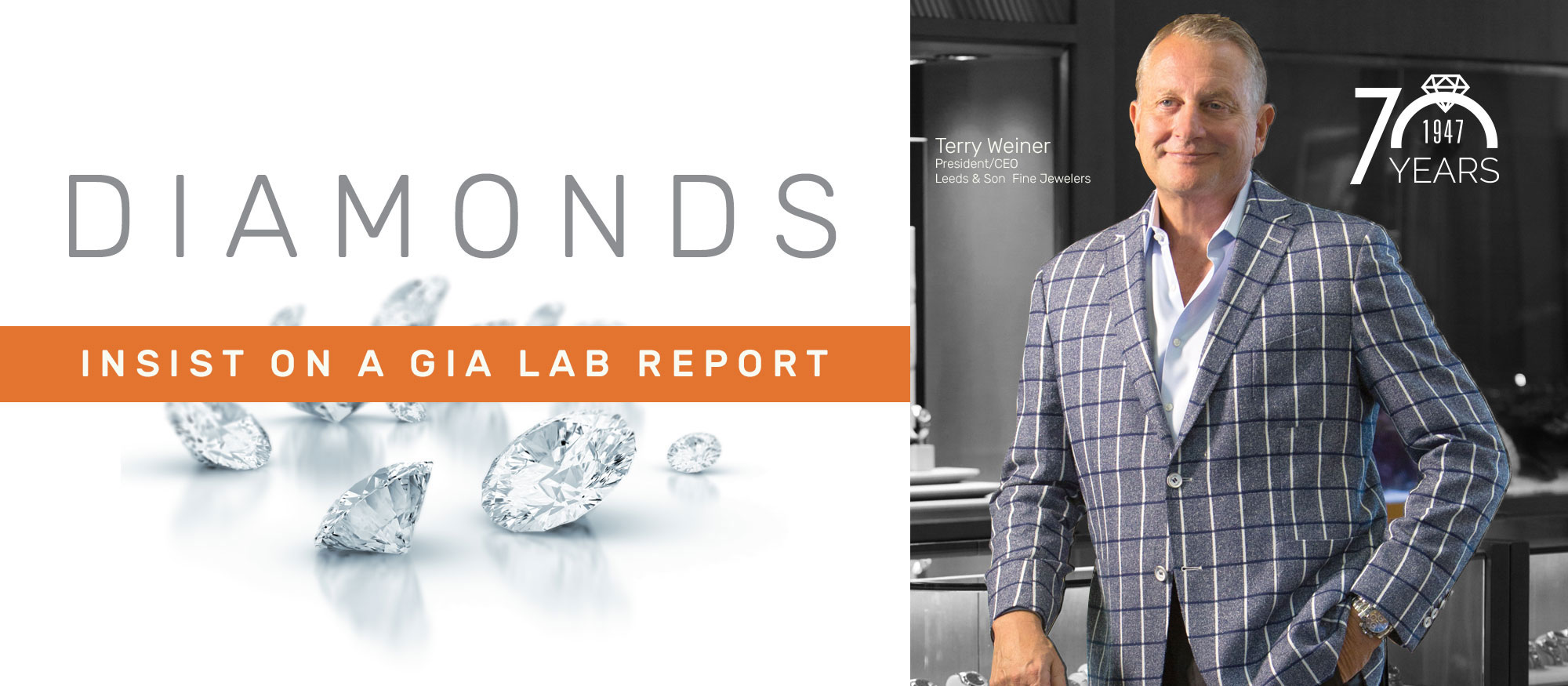 Diamonds - insist on a GIA lab report