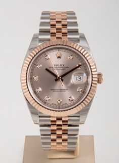 Pre-owned Rolex Datejust 41 ref 126331-0008