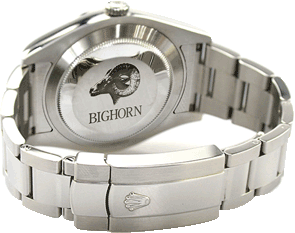 Watch with Bighorn Golf inscription