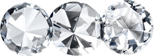 Three diamonds